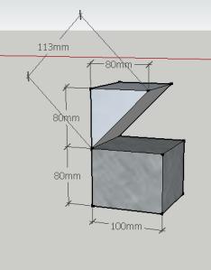 Isometric folded