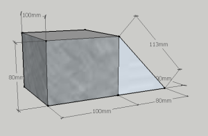 Isometric unfolded